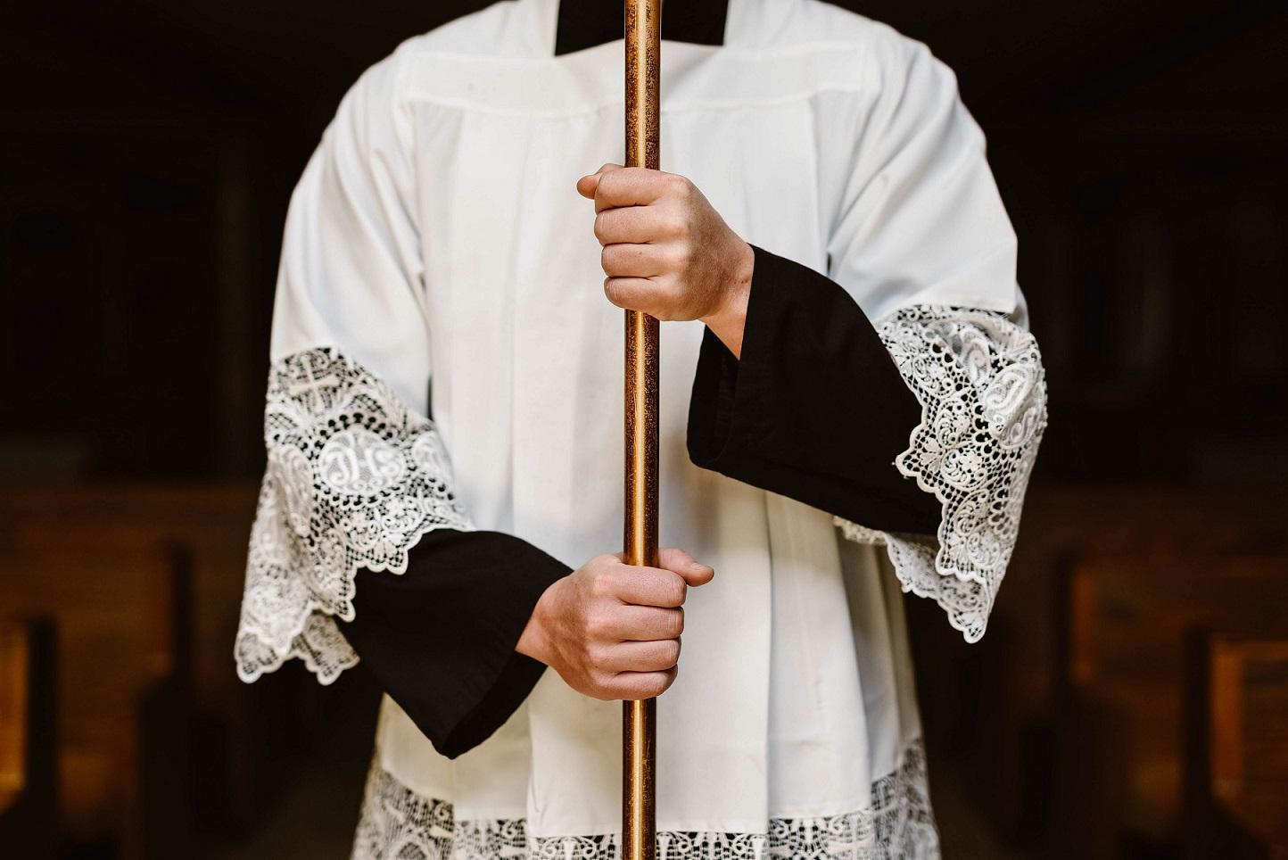 Begrüßung bei der Erstkommunion der Gemeinde St. Michael