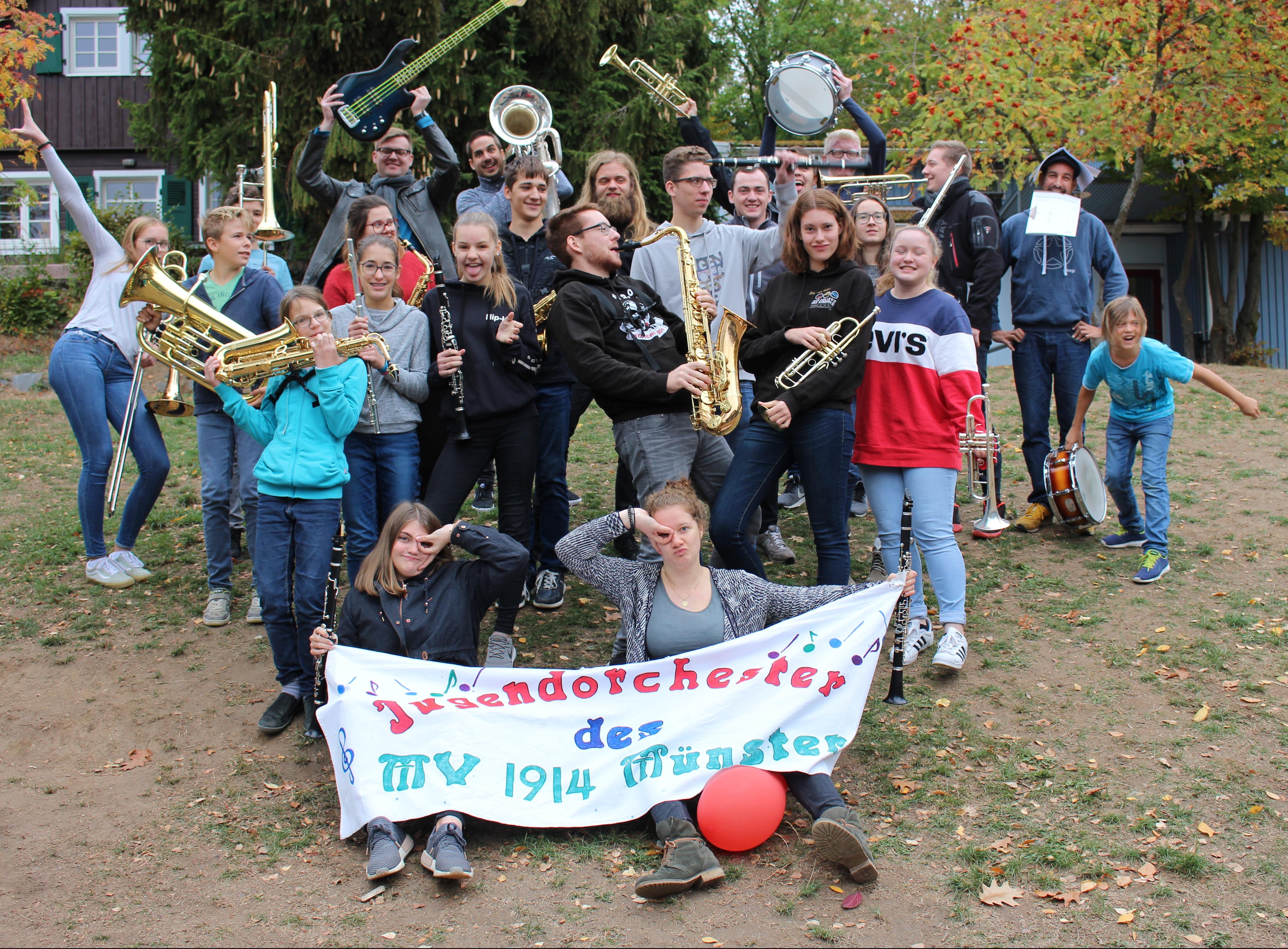 Probewochenende des Jugendorchesters
